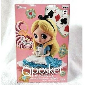 NEW 4in Alice in wonderland qposket sugarly figure